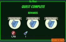 FoS Go West rewards
