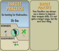 FoS Target Practice card