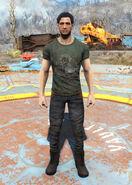 Green Vault Boy t-shirt male