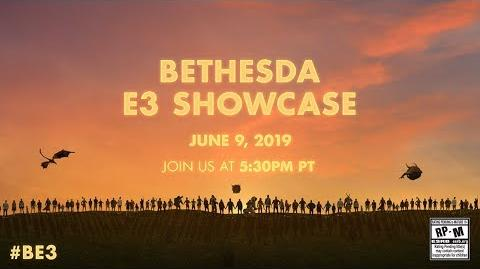 Anticube/Презентация Bethesda на E3 2019