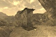 FNV Guardian Peak outhouse