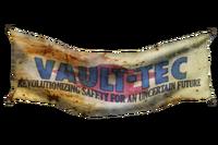 FNV Vault Tec banner nif