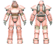 FO4CC T-51 power armor pink