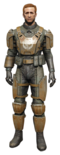 FO4 BOS Knight Commander.png
