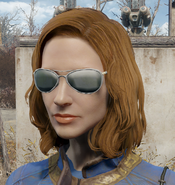Patrolman sunglasses worn