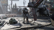 FO76 AMS corporate HQ (power armour)
