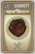 FOS Karte - Baseballhandschuh