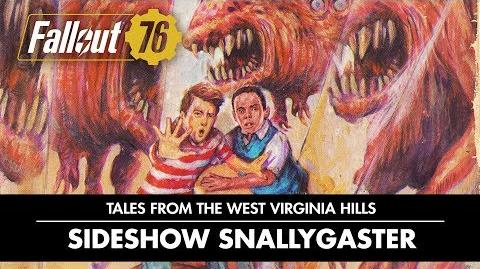 Fallout 76 – Tales from The West Virginia Hills Sideshow Snallygaster Video