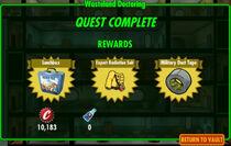 FoS Wasteland Doctoring rewards