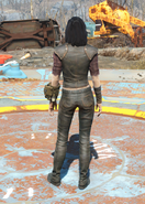 Road Leathers, Back View (Female)
