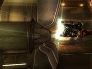 Alien atomizer side shot