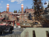 Converted munitions factory