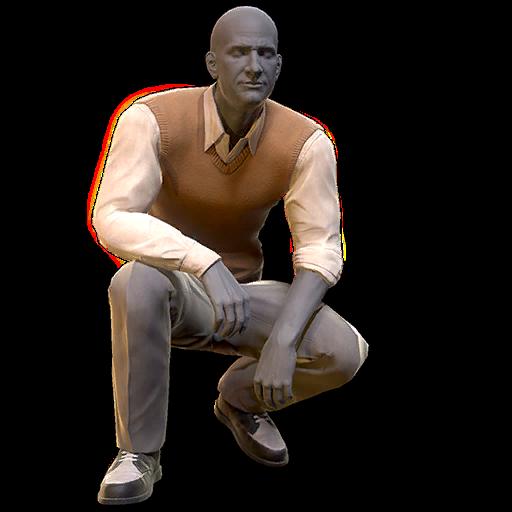 Sweater vest and slacks (Fallout 76)