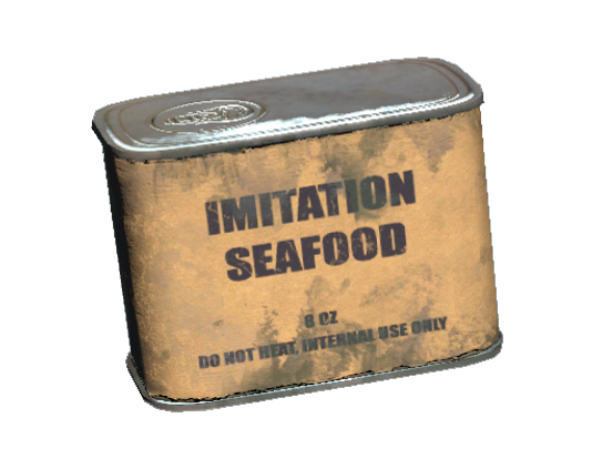 Imitation seafood