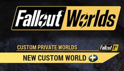 FO76 mainmenu falloutworlds newcustom.png