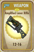 FoS Amplified Laser Rifle Card