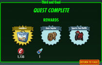 FoS Third and Goal rewards