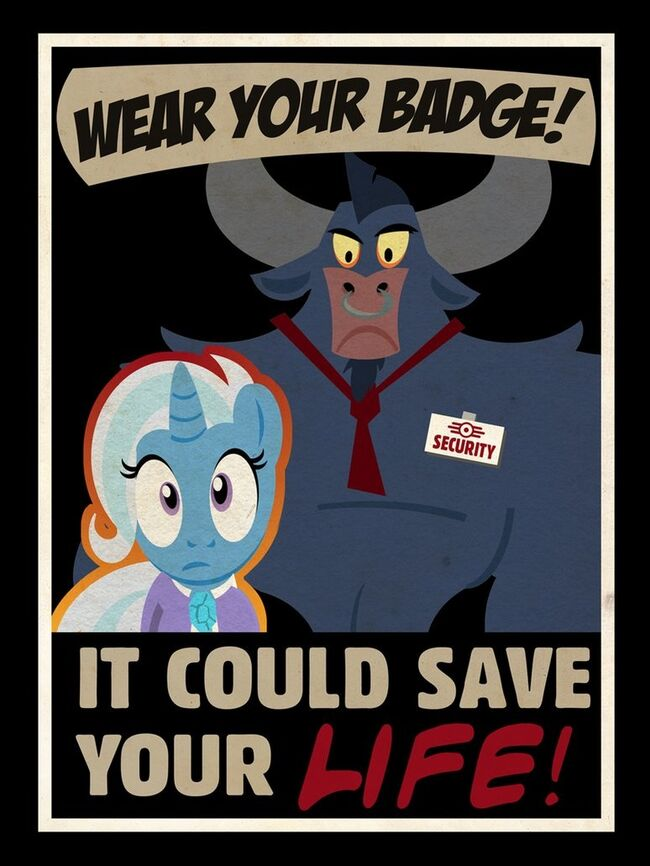 The image that indirectly spoiled Fallout: Equestria for me