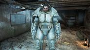 FO4 Paladin Danse in X-01 Power Armor