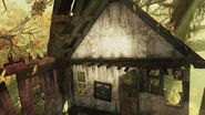 FO76 Tanagra Town Ruined house (paired keycard 02)