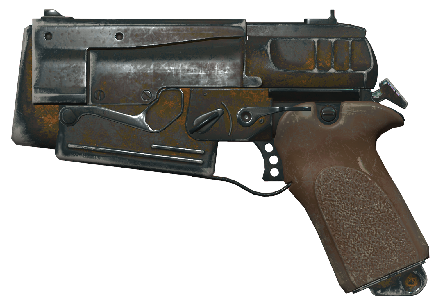 10mm Pistol Fallout 4 Fallout Wiki Fandom Unlike spread which is the invisible possible deviation of the projectile from a perfect shot, recoil visibly moves the weapon and crosshairs, and can be. 10mm pistol fallout 4 fallout wiki