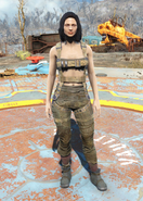 Fo4 Harness armor female
