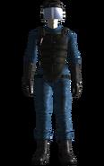 Vault 34 security armor female