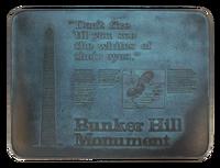 Bunker Hill Plaque