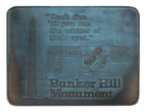 Bunker Hill Plaque