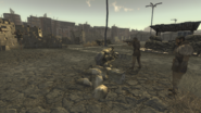 FNV NCR trooper training with major Dhatri ev