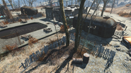 FO4 Fiddlers Green Trailer Estates bunker overview