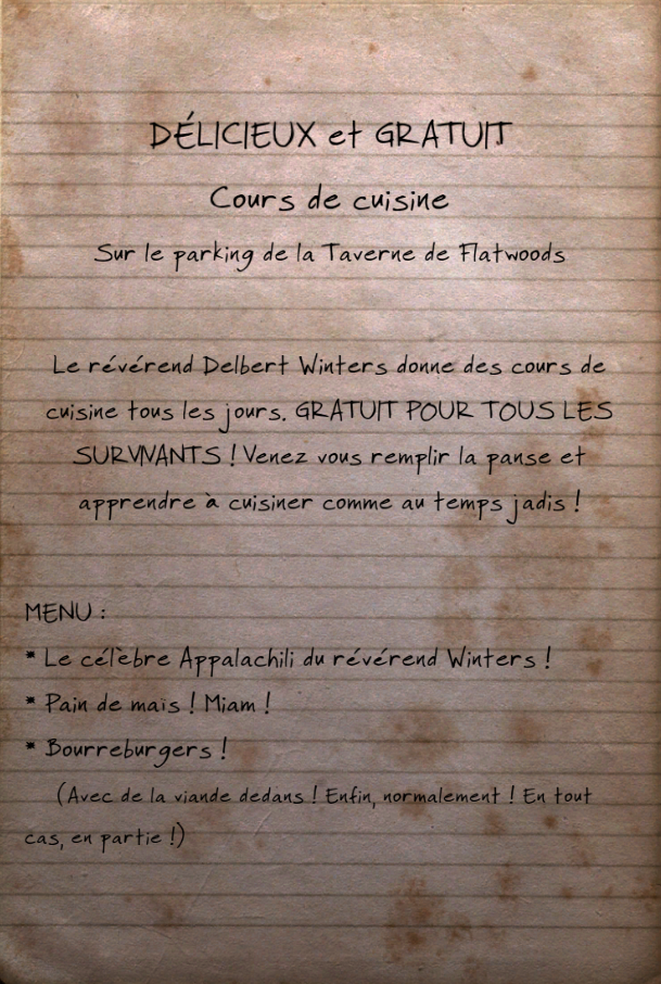 Leçons de cuisine gratuites !