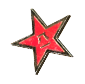 FO76 Red star pin.png