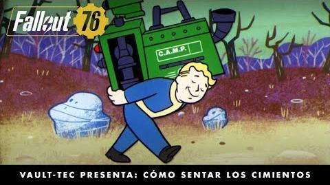 Fallout 76 – Vault-Tec presenta Cómo sentar los cimientos (vídeo sobre construcción y artesanía)