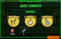 FoS Vault-Tec Experiment Review A rewards