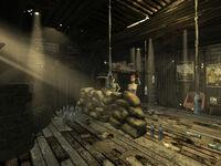 Nobarks shack interior