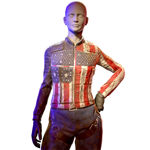 Stars and Stripes ops outfit