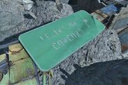 FO4 Lexington Concord street sign