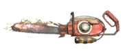 FO76 Chainsaw flamer
