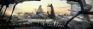 Boston Logan Airport E3 concept art