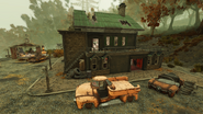 FO76 Sunday Brothers' cabin