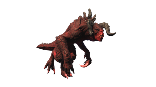 Fo4 Deathclaw chameleon red