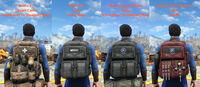 Modular military backpack serie2