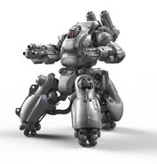 Sentry Bot Render Frontal 3Quarter View