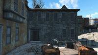 Shroud Manor back entrance