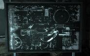 X-8 TF cyberdog schematics on blackboard