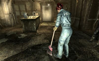 FO3 Moira Brown cleans up