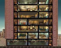 FOS Quest - Der Überragende Il Forno - Übersicht Gebäude - untere Hälfte