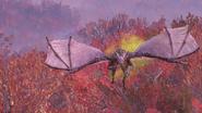 Fallout 76 Scorchbeast flying 2