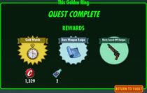 FoS This Golden Ring rewards